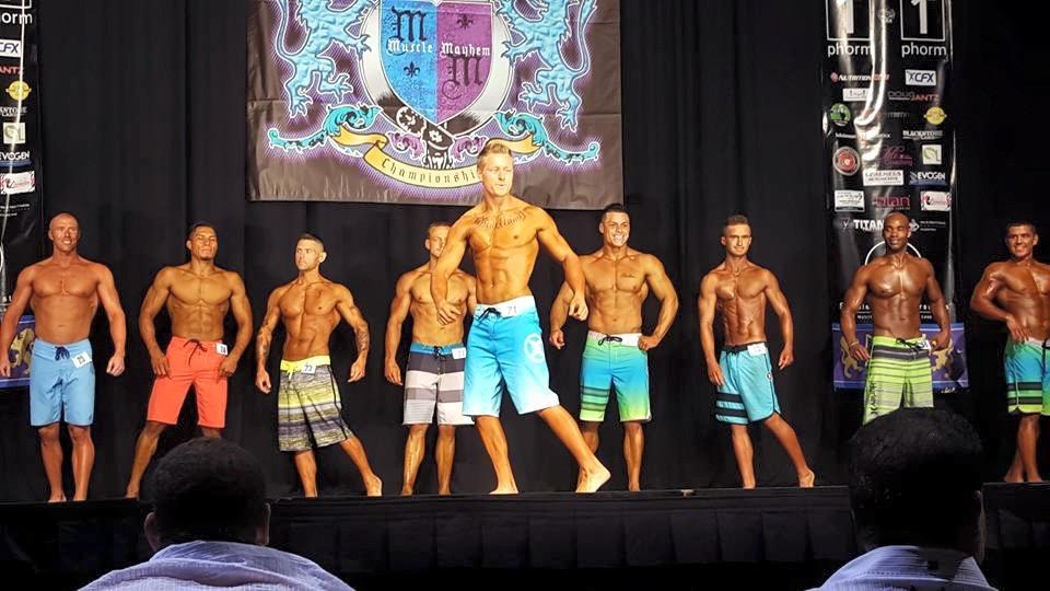 Team PROformations at NPC Muscle Mayhem Championships
