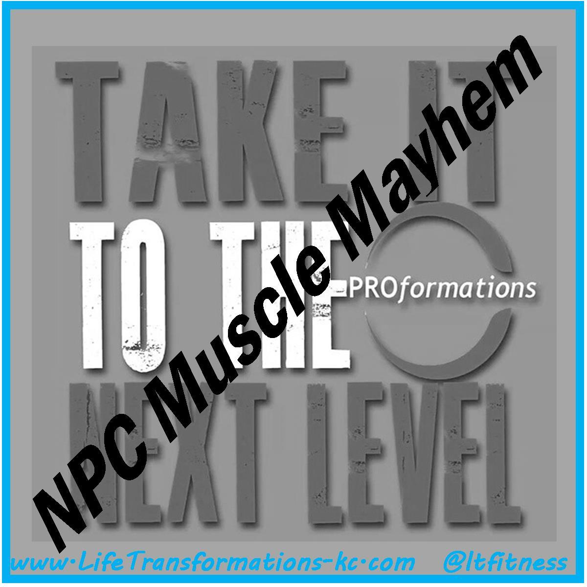 Team PROformations npc muscle mayhem
