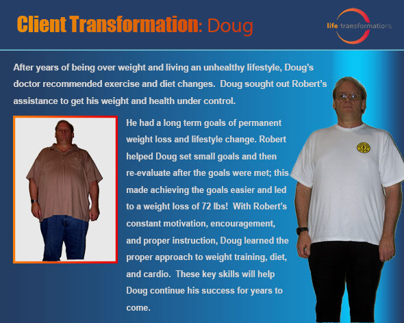 life transformations personal training lees summit doug