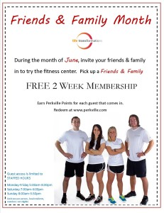 Life Transformations Fitness Friends and Family Month