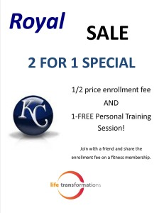 Life Transofmations Fitness Royals Sale