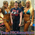 Team PROformations Molly WIchman IFBB Fitness Pro