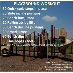Life transformations personal training Playground-Workout