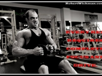 Robert Wichman Bodybuilder Motivation