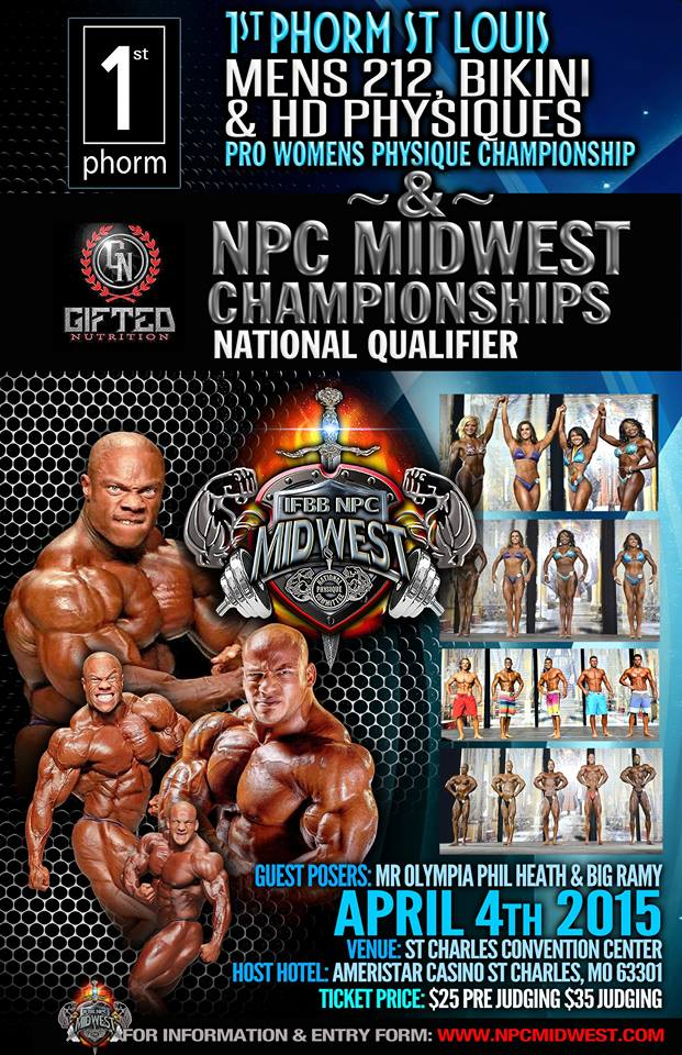 Bodybuilding Event Poster