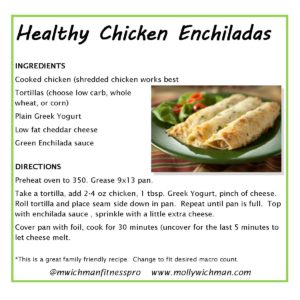 molly-wichman-fitness-chicken-enchiladas